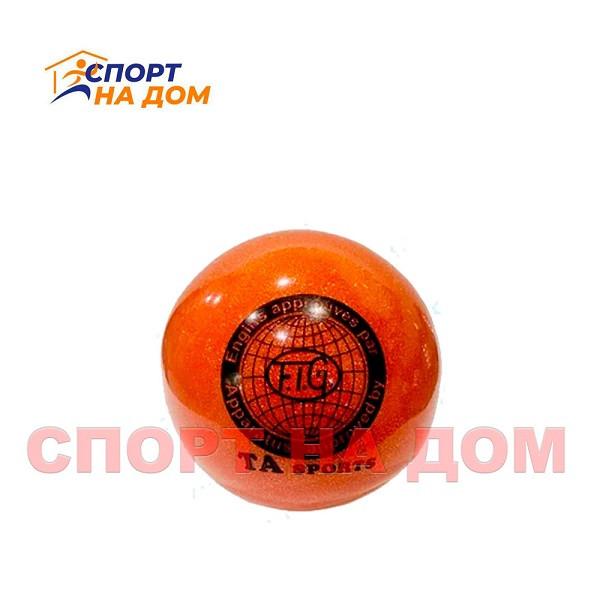 Мяч TA sports для гимнастики 21 см (цвет оранжевый)