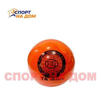 Мяч TA sports для гимнастики 21 см (цвет оранжевый), фото 2