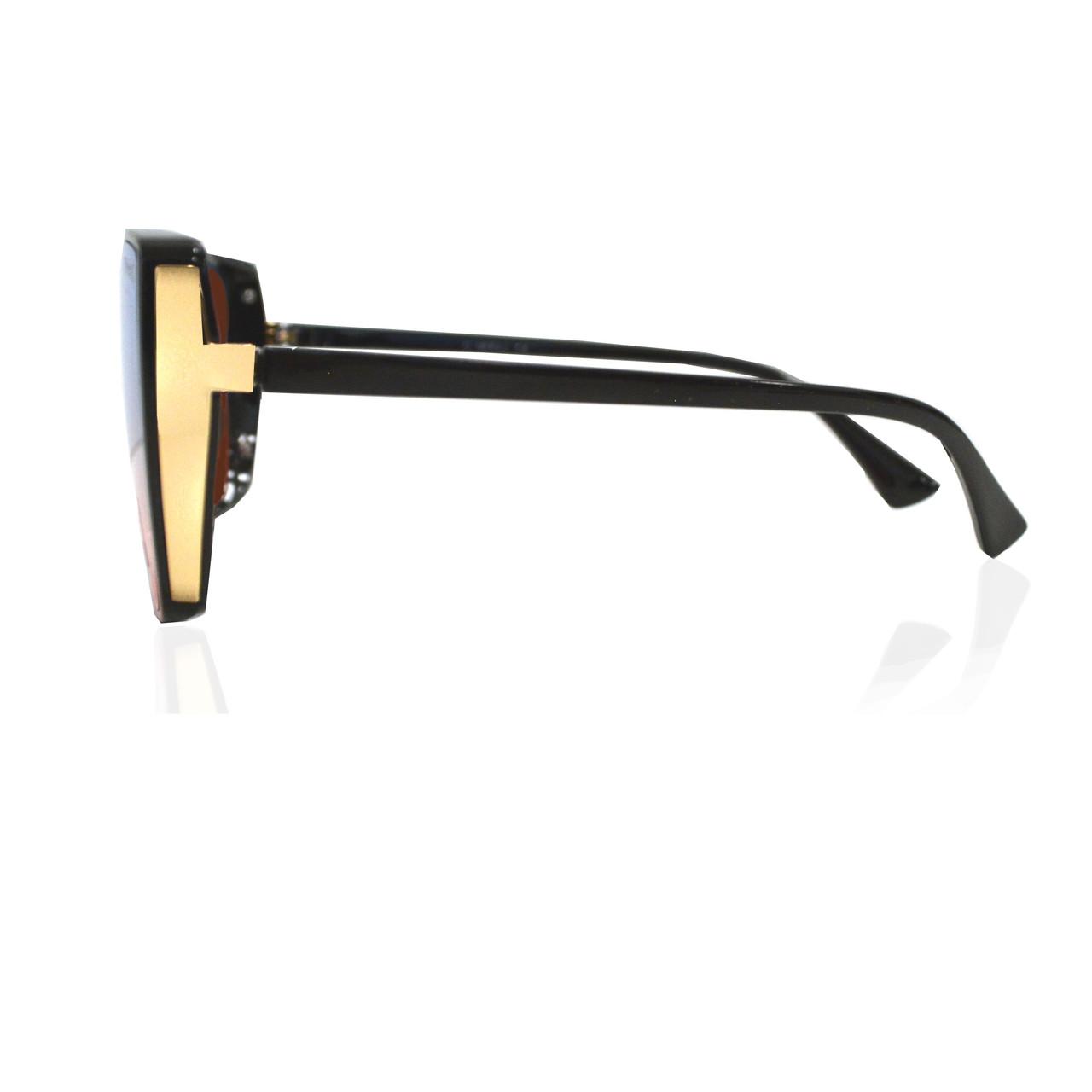 Солнцезащитные очки с коричневыми стеклами UV 400 O'NeeiLL D9105 черные - фото 4