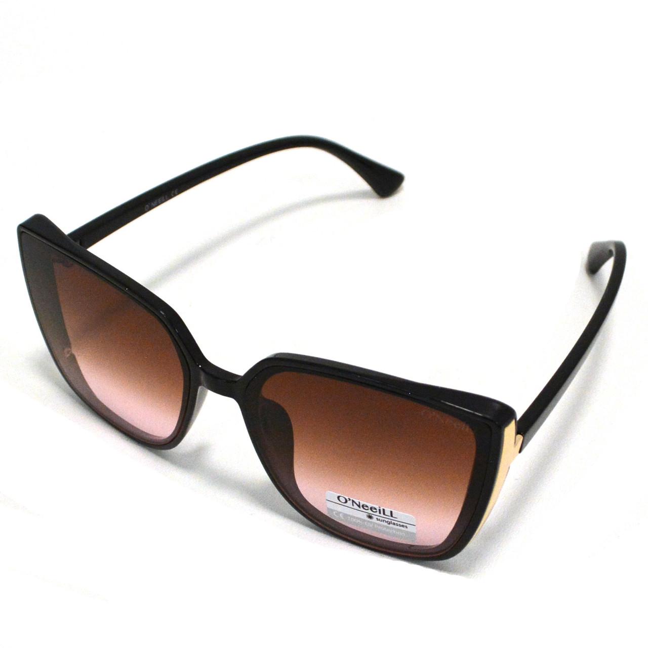 Солнцезащитные очки с коричневыми стеклами UV 400 O'NeeiLL D9105 черные - фото 3