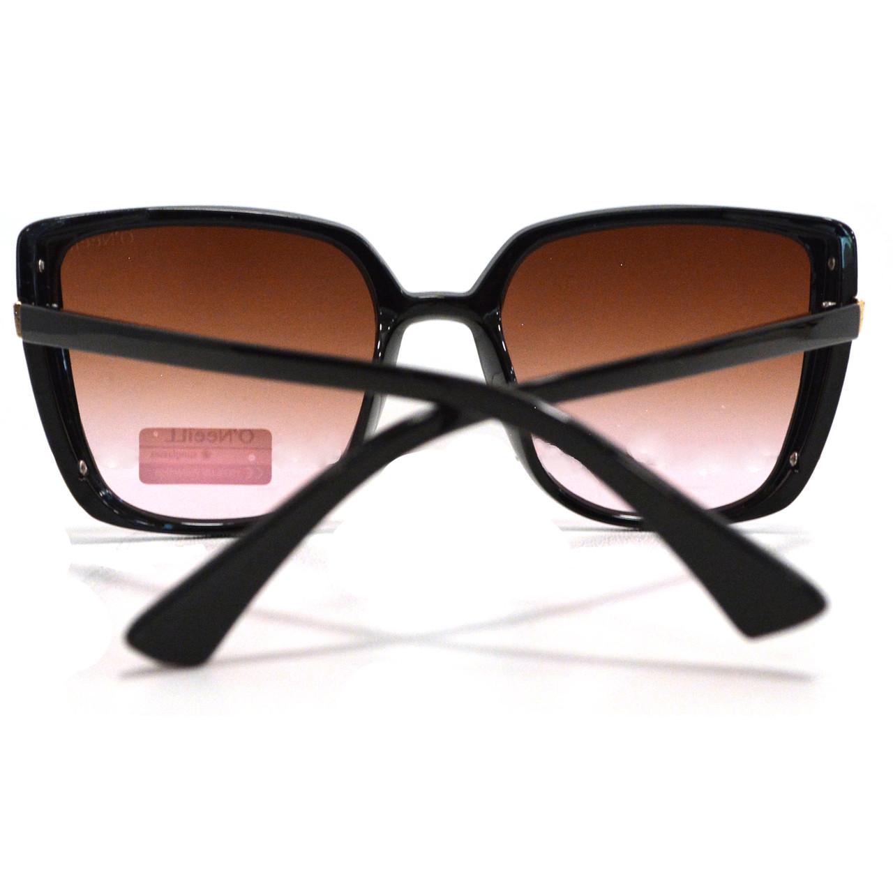 Солнцезащитные очки с коричневыми стеклами UV 400 O'NeeiLL D9105 черные - фото 5