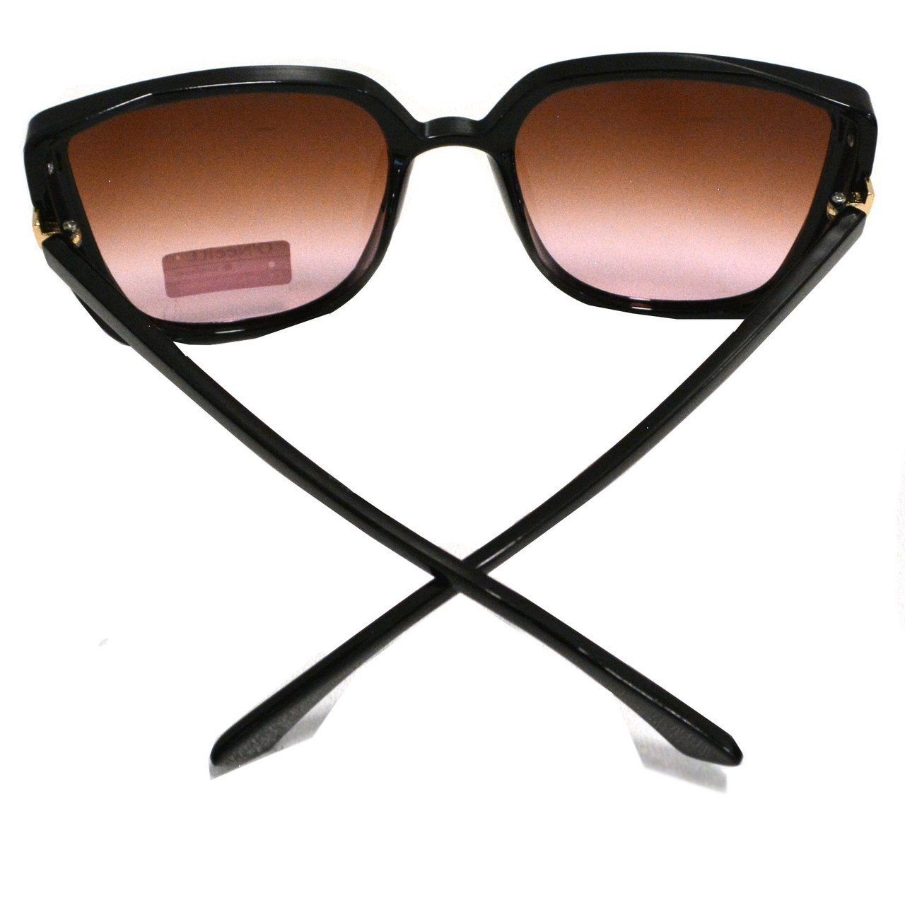 Солнцезащитные очки с коричневыми стеклами UV 400 O'NeeiLL D9105 черные - фото 7