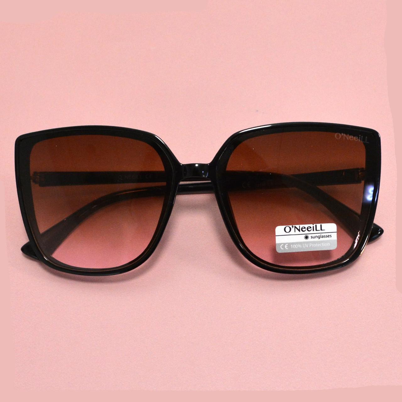 Солнцезащитные очки с коричневыми стеклами UV 400 O'NeeiLL D9105 черные - фото 8