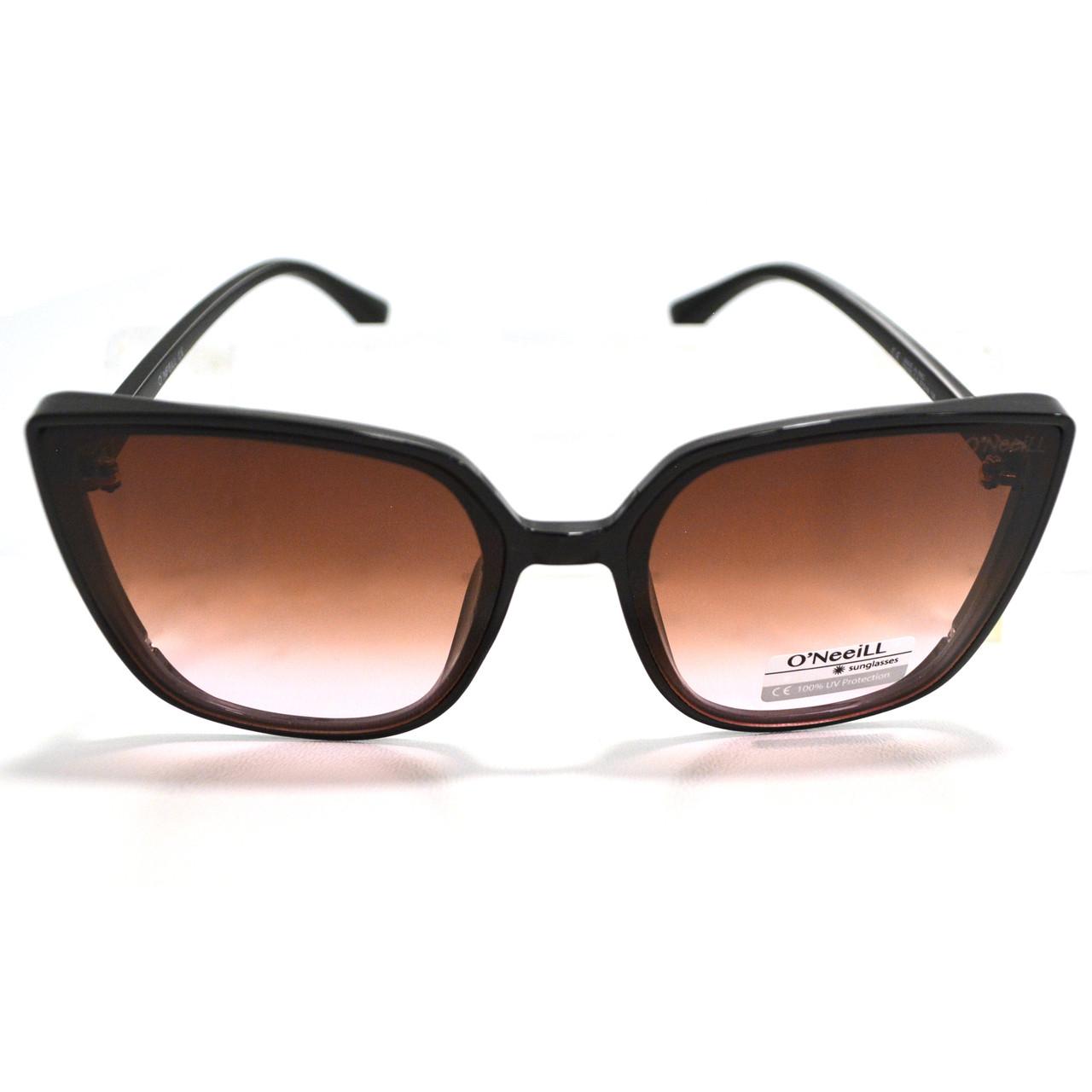 Солнцезащитные очки с коричневыми стеклами UV 400 O'NeeiLL D9105 черные - фото 6
