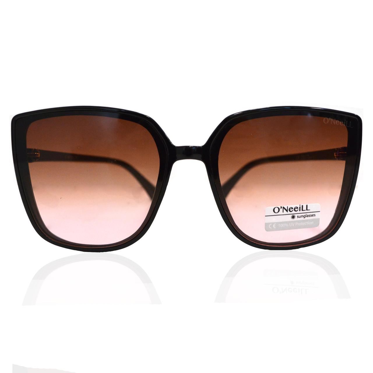 Солнцезащитные очки с коричневыми стеклами UV 400 O'NeeiLL D9105 черные - фото 10