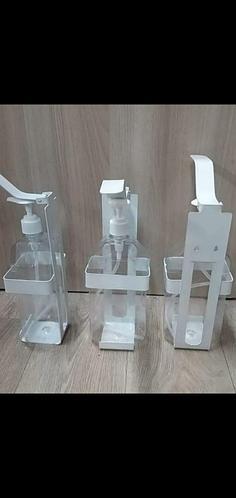 Настенный локтевой дозатор для антисептика