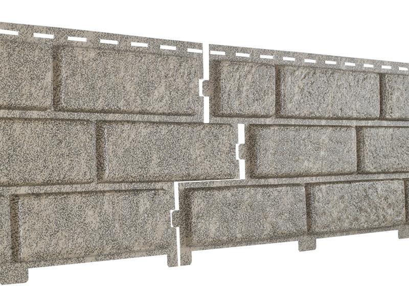 Фасадные панели Ю-Пласт Stone House Кирпич (бежевый)