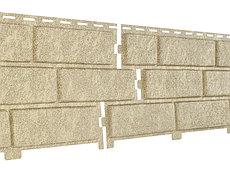 Фасадные панели Ю-Пласт Stone House Кирпич (песочный)
