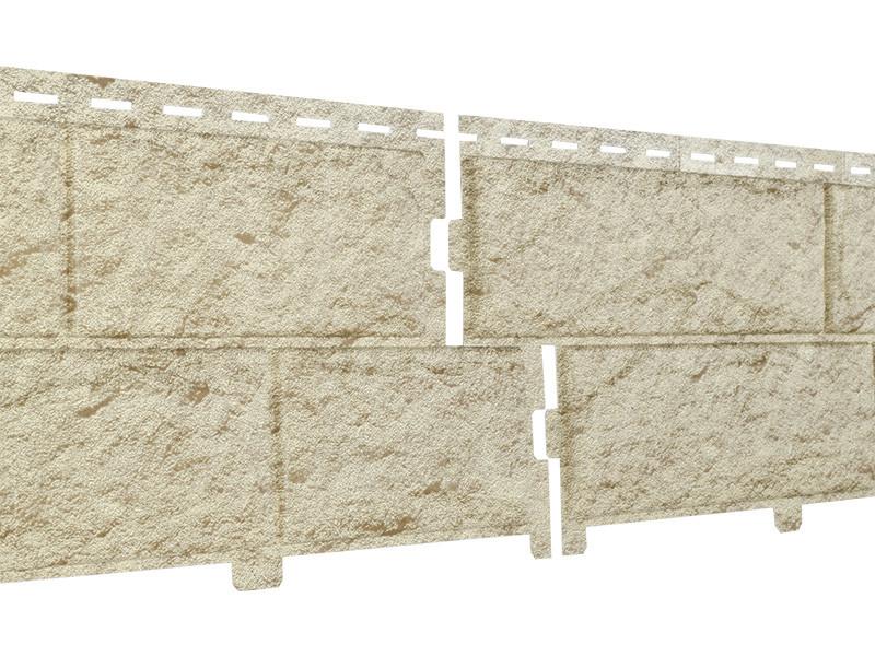 Фасадные панели Ю-Пласт Stone House Камень (золотистый)