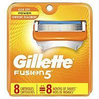 Gillette Fusion 5 (8 кассет) США