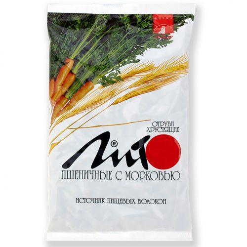 Отруби пшеничные хрустящии 200гр морковью