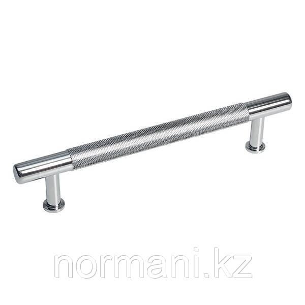 Ручка скоба 128 мм, отделка хром глянец