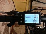 "48v 1000w (max 1500 w), MXUS, редукторный, аккум. Li-ion 48v 14,4 A/H. Электровел. Рама 19"". Колеса 26""., фото 2"
