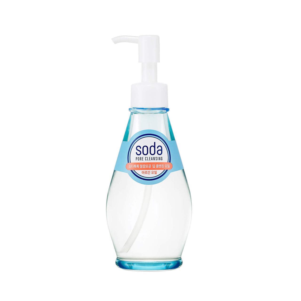 Holika Holika Гидрофильное масло Soda Pore Cleansing BB Deep Cleansing Oil / 150 мл.