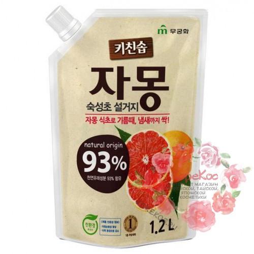 Kitchen Soap Органическое жидкое средство для посуды (Грейпфрут) / 1,2 л