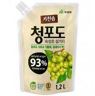 Kitchen Soap Органическое жидкое средство для посуды (Зеленый виноград) / 1,2 л