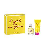 Lanvin A Girl in Capri woman set (50 ml) edt + (100 ml) B/L