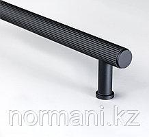 Ручка скоба 192 мм, отделка черный матовый