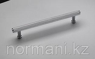 Ручка скоба 160 мм, отделка никель глянец