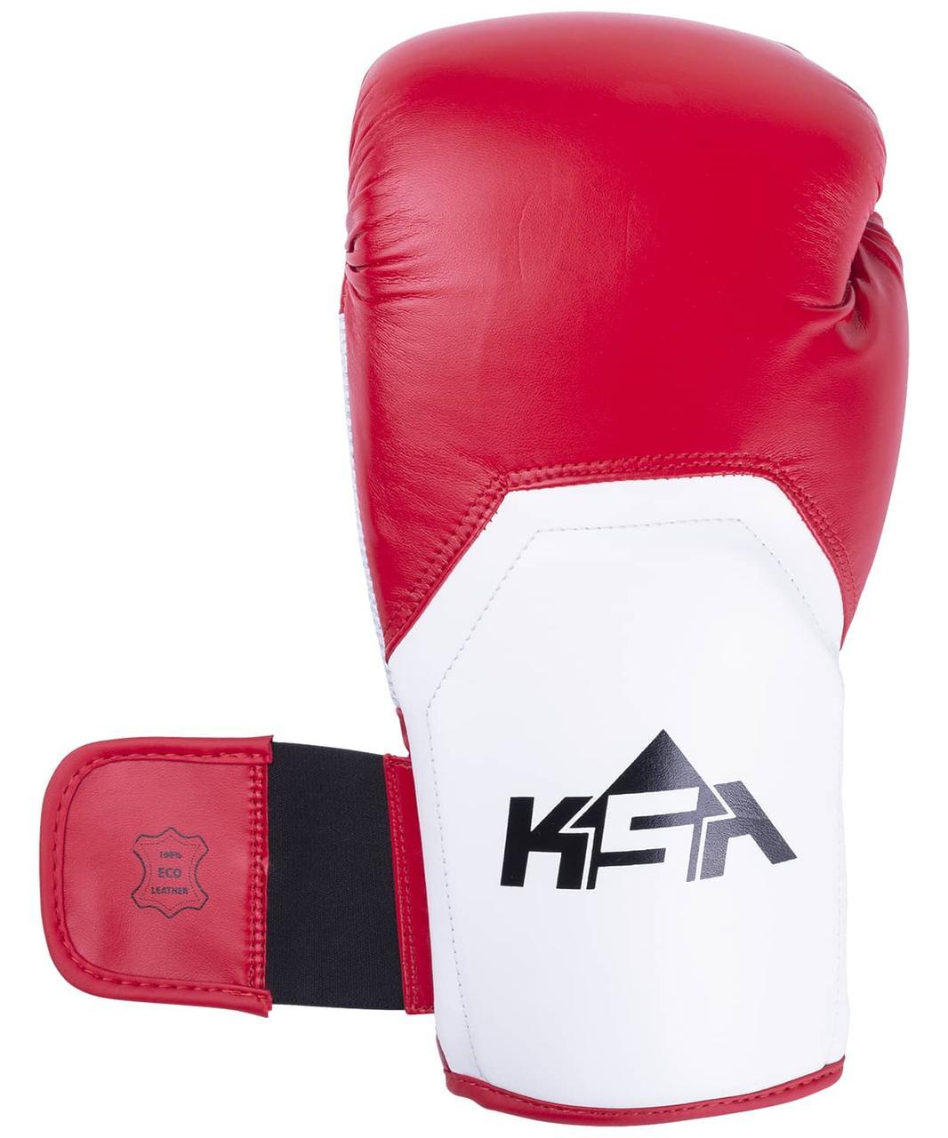 Перчатки боксерские Scorpio Red, к/з, 10 oz KSA