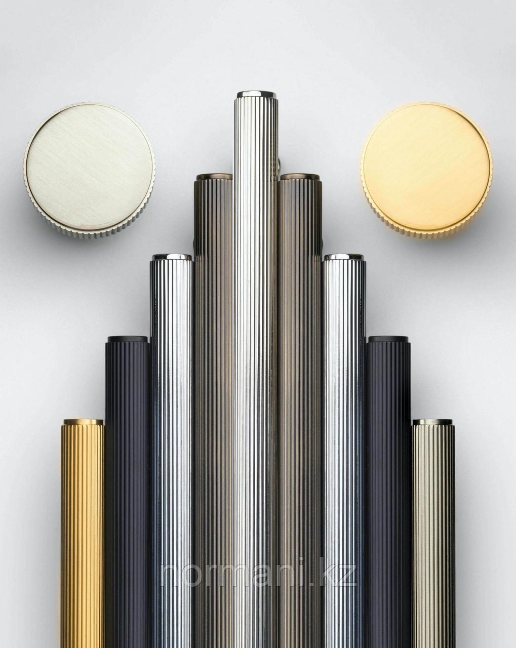 Ручка скоба 192 мм, отделка золото матовое