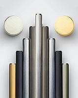 Ручка скоба 160 мм, отделка золото матовое