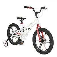 """Велосипед двухколесный Pituso Sendero 16"""" белый"""