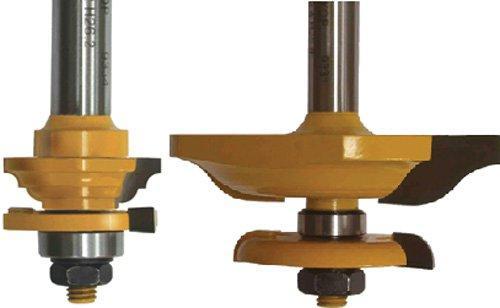 Набор фрез для изготовления филенчатых изделий, хвостовик 12 мм, 3 штуки