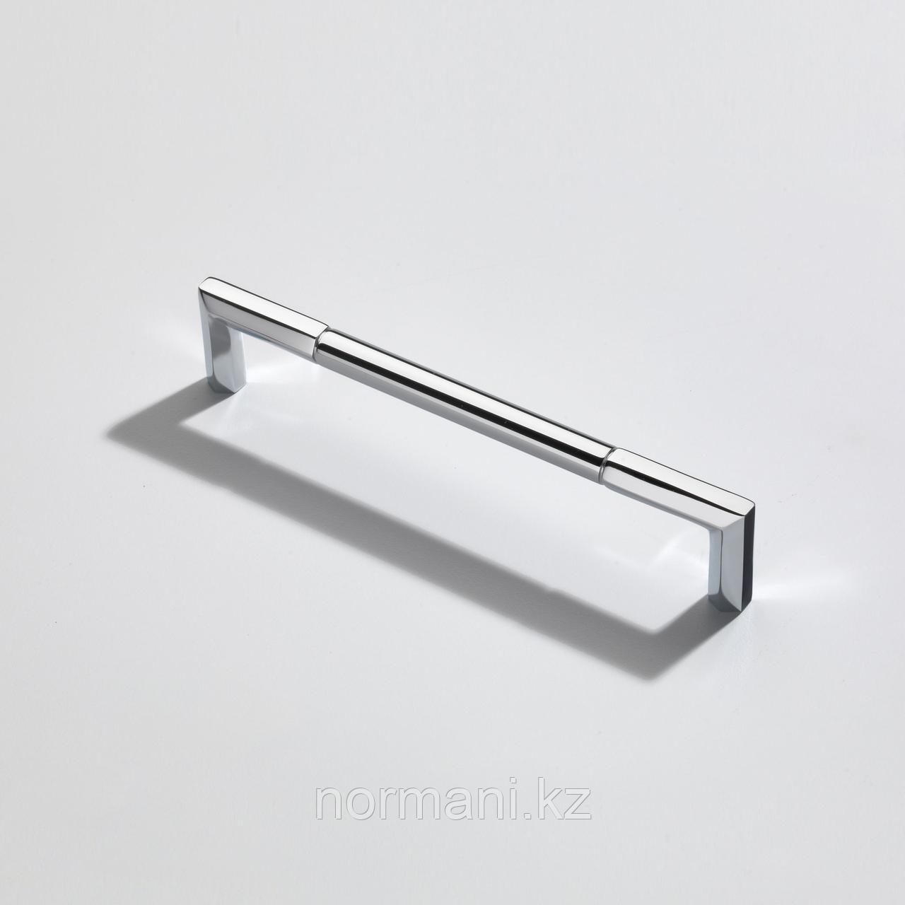 Ручка скоба 192 мм, отделка хром глянец