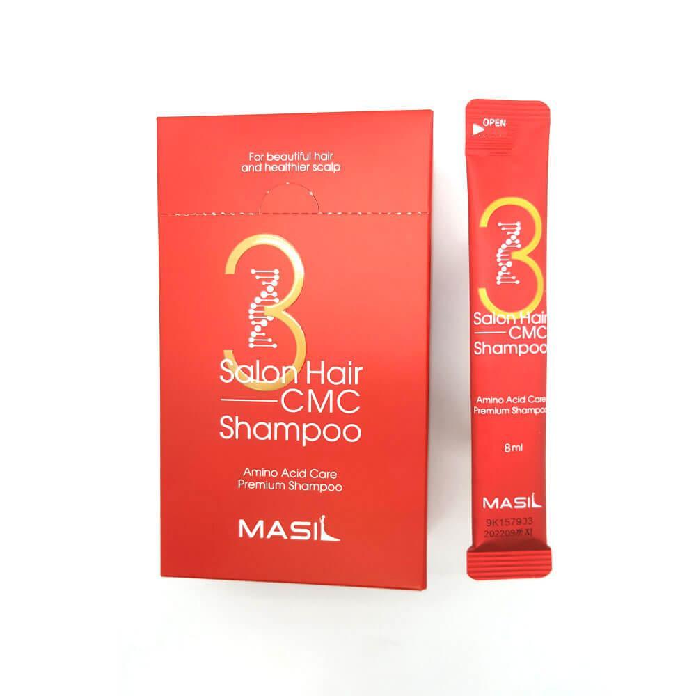 MASIL Шампунь с Аминокислотами 3 Salon Hair CMC Shampoo 8мл