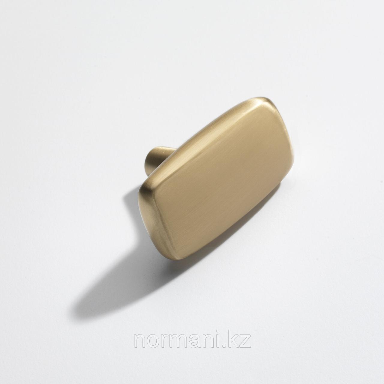 Ручка кнопка L.60, отделка золото матовое