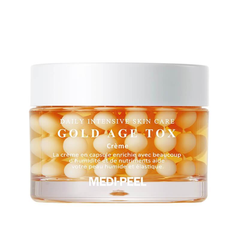 MEDI-PEEL Антивозрастной капсульный крем с экстрактом золотого шелкопряда Gold Age Tox Cream 50 мл