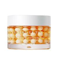 Medi-Peel Антивозрастной капсульный крем с экстрактом золотого шелкопряда Gold Age Tox Cream / 50 мл.