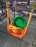 Качели подвесные Медвежонок 3 в 1 EDU PLAY