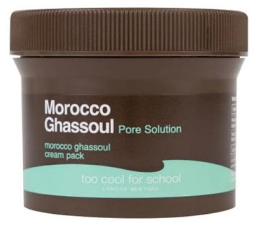 Too Cool For School Маска-крем для лица Morocco Ghassoul Cream Pack 100 мл