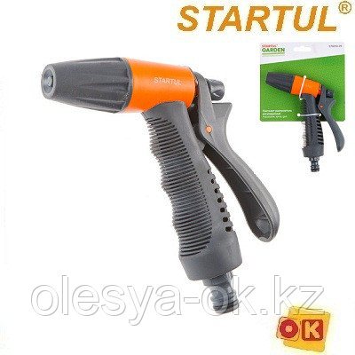 Пистолет-распылитель регулируемый с мягкой ручкой STARTUL GARDEN (ST6010-05), фото 2