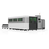 Волоконный лазер LF6025GA (модель High класса с защитной кабиной и сменным столом)