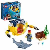 Lego Конструктор Океан. Мини-подлодка CITY 60263