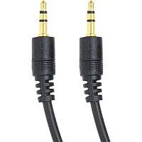 Аудио кабель PowerPlant 3.5 мм M-M, 1.5м