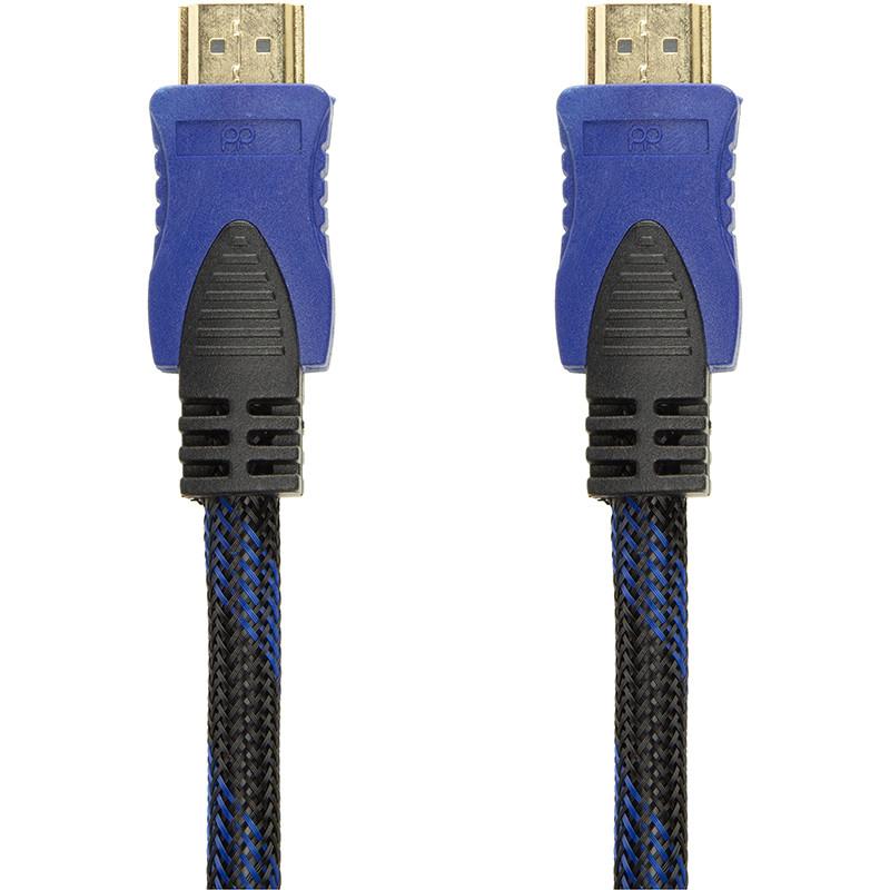Видeo кабель PowerPlant HDMI - HDMI, 0.75m, позолоченные коннекторы, 1.4V