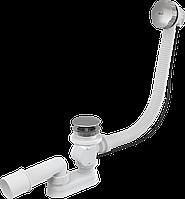 Сифон для ванны автомат металл/хром длина 57 см, (A55KM)