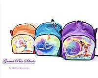 Рюкзаки для художественной гимнастики с рисунком сублимацией, фото 1