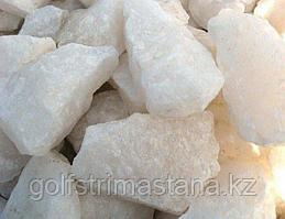 Камни для каменок, Белый кварц, колотый, 10 кг