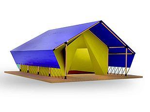 Сафари тент 4х7м