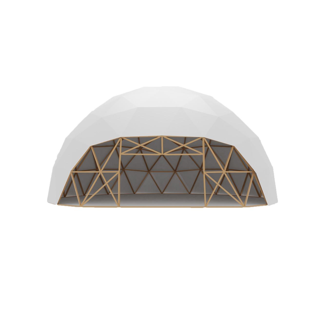 Сферический шатер диаметр 16 м