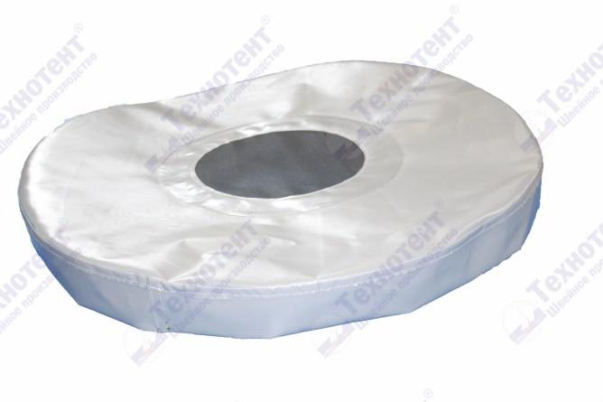 Крышка на складную бочку с защитной сеткой