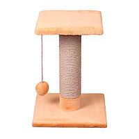 Когтеточка - лежанка на поставке квадратная 7 Котиков