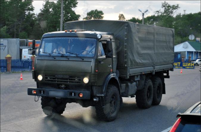 Тент на КамАЗ 53501 (8287-8508020-75)