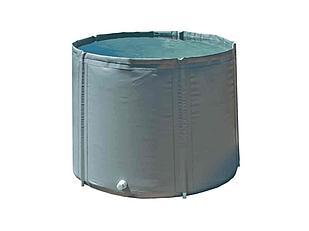 Складная бочка 1000 л с крышкой Диаметр-115 см. Высота-100 см.