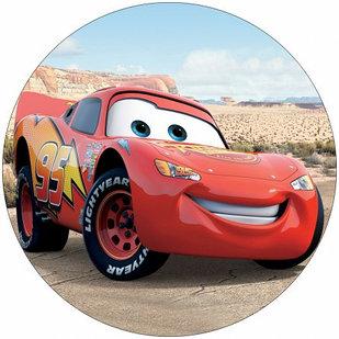 "Ледянка мягкая диаметр 45см ""Машинка"" оранжевая стропа"